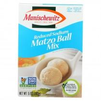 Manischewitz Reduced Sodium Matzo Ball Mix - Case Of 12 - 5 Oz.