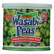 Hapi Green Peas - Hot Wasabi - Case Of 24 - 4.9 Oz.