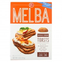 Old London Sesame Melba Toast - Whole Grain - Case Of 12 - 5 Oz.