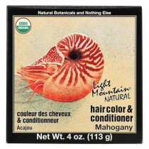 Light Mountain Hair Color - Mahogany - Case Of 1 - 4 Oz.