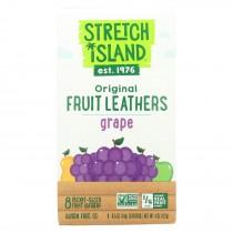 Stretch Island Organic Fruit Strip - Grape - Case Of 9 - 4 Oz.