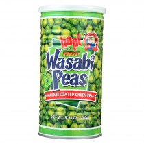 Hapi Green Peas - Hot Wasabi - Case Of 12 - 9.9 Oz.