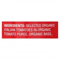 Bella Terra Organic Italian Whole Peeled Tomatoes - San Marzano - Case Of 12 - 28 Oz.