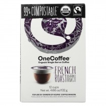 One Coffee - French Roasted - Case Of 6 - 12 Count