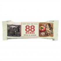88 Acres Bars - Apple And Ginger - Case Of 9 - 1.6 Oz.