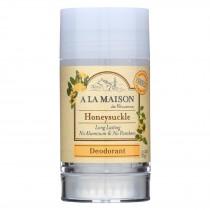 A La Maison Deodorant - Honeysuckle - 2.4 Oz