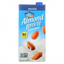 Almond Breeze Almond Milk -vanilla - Case Of 12 - 32 Fl Oz
