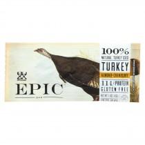 Epic Bar - Turkey - Almond - Cranberry - Case Of 12 - 1.5 Oz