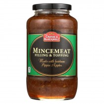 Crosse And Blackwell Mincemeat Filling And Topping - Case Of 12 - 29 Oz.