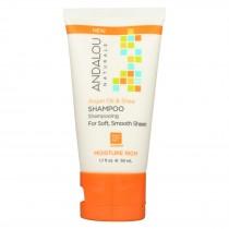 Andalou Naturals Shampoo - Argan - Sea - Rich - Case Of 6 - 1.7 Fl Oz