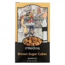 La Medina Sugar Cubes - Brown - Case Of 12 - 13 Oz.
