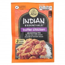 Simply Asia Indian Essentials Seasoning Mix - Butter Chicken - Case Of 12 - 0.9 Oz.
