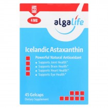 Algalife Usa Icelandic Astaxanthin 4mg - 45 Count