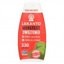 Lakanto - Liquid Monkfruit Sweetener - Sugar Free - Case Of 6 - 1.85 Fl Oz.