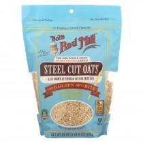Bob's Red Mill - Steel Cut Oats - Case Of 4-24 Oz