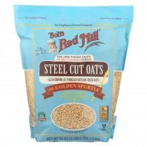 Bob's Red Mill - Steel Cut Oats - Case Of 4-54 Oz