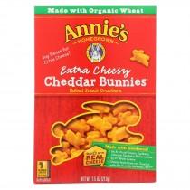 Annie's Homegrown - Chddr Bnnies X-cheese - Case Of 12-7.5 Oz.