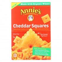 Annie's Homegrown - Cracker Chedder Sqrs - Case Of 12-7.5 Oz.