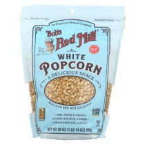 Bob's Red Mill - Popcorn - White - Case Of 4 - 30 Oz.