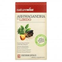 Naturewise - Ashwagandha - Libido - 60 Vegetarian Capsules