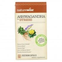 Naturewise - Ashwagandha - Stress - 60 Vegetarian Capsules