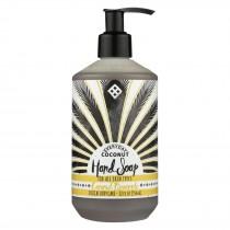 Alaffia - Everyday Hand Soap - Coconut Pineapple - 12 Fl Oz.