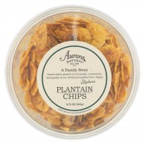 Aurora Natural Products - Plantain Chips - Case Of 12 - 8.75 Oz.