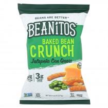 Beanitos - Baked Bean Crunch - Jalapeno Con Queso - Case Of 6 - 4.5 Oz.