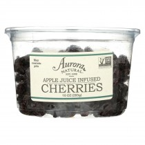 Aurora Natural Products - Apple Juice Infused Cherries - Case Of 12 - 10 Oz.