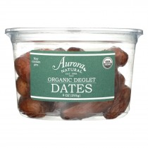 Aurora Natural Products - Organic Deglet Dates - Case Of 12 - 9 Oz.
