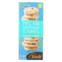 Pamela's Products - Pecan Shortbread Cookies - Gluten-free - Case Of 6 - 6.25 Oz.