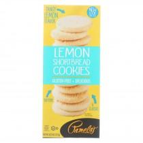 Pamela's Products - Lemon Shortbread Cookies - Gluten-free - Case Of 6 - 6.25 Oz.