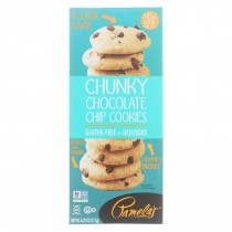 Pamela's Products - Chunky Chocolate Chip Cookies - Gluten-free - Case Of 6 - 6.25 Oz.