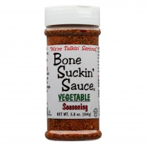 Bone Suckin - Seasoning And Rub - Vegetable - Case Of 12 - 5.8 Oz.