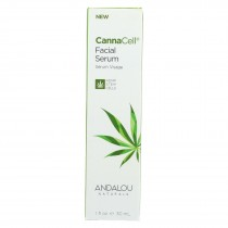 Andalou Naturals - Cannacell Facial Serum - 1 Fl Oz.