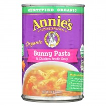 Annie's Homegrown - Soup - Bunny Pasta And Chicken Broth Soup - Case Of 8 - 14 Oz.