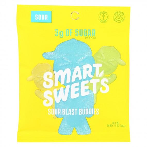 Smartsweets - Gummy Sour Blast Buddies - Case Of 12 - 1.8 Oz
