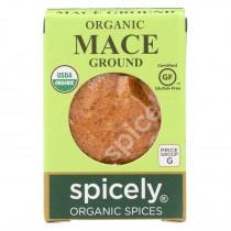 Spicely Organics - Organic Mace - Ground - Case Of 6 - 0.3 Oz.