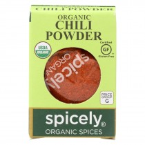 Spicely Organics - Organic Chili Powder - Case Of 6 - 0.45 Oz.