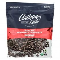 Artisan Kettle - Organic Chocolate Chips -semisweet Minis - Case Of 6 - 9 Oz.