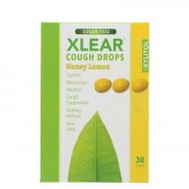 Xlear - Throat Drops Honey Lemon - 30 Ct