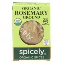Spicely Organics - Organic Rosemary - Ground - Case Of 6 - 0.2 Oz.