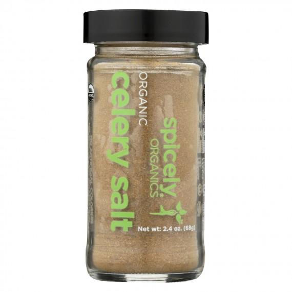 Spicely Organics - Organic Celery Salt - Case Of 3 - 1.6 Oz.