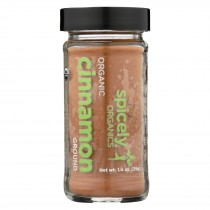 Spicely Organics - Organic Cinnamon - Ground - Case Of 3 - 1.4 Oz.