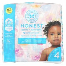 The Honest Company - Diapers Size 4 - Rose Blossom - 23 Count