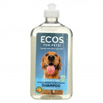 Ecos - Hypoallergenic Conditioning Pet Shampoo - Fragrance Free - 17 Fl Oz.