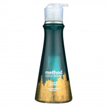 Method - Dish Soap Pump - Frosted Fir - Case Of 6 - 18 Fl Oz.