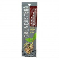 Crunchsters - Sprouted Protein Snack - Smokey Balsamic - Case Of 12 - 1.3 Oz.
