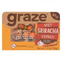Graze - Snack Mix - Spicy Sriracha Crunch - Case Of 6 - 1.3 Oz.