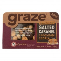Graze - Snack Mix - Salted Caramel And Chocolate Cookie - Case Of 6 - 1.3 Oz.